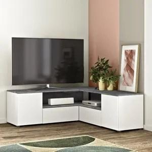 meuble tv haut angle amazon
