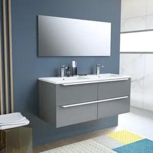 meuble salle de bain anthracite