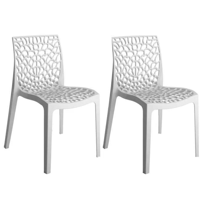 green boheme lot de 2 chaises de jardin