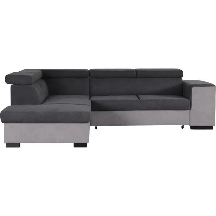 armstrong canape d angle gauche convertible coff