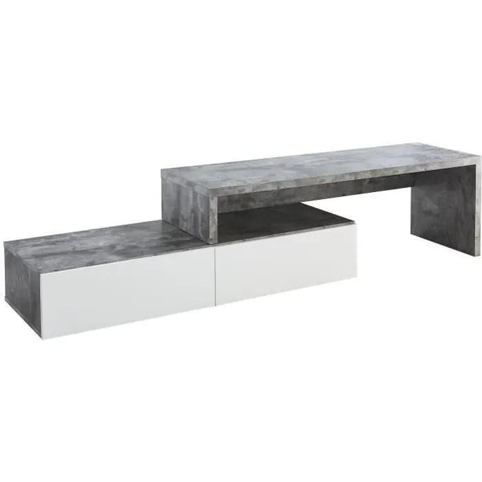 floyd meuble tv extensible contemporain