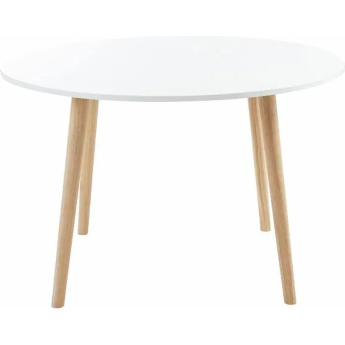 table ronde blanche