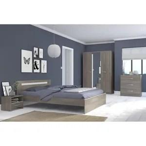 chambre complete adulte 140x190 cm