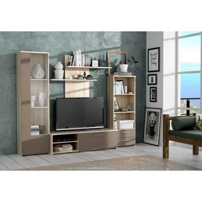 meuble tv colonne