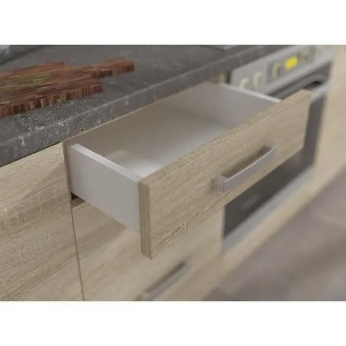 meuble bas cuisine avec plan de travail
