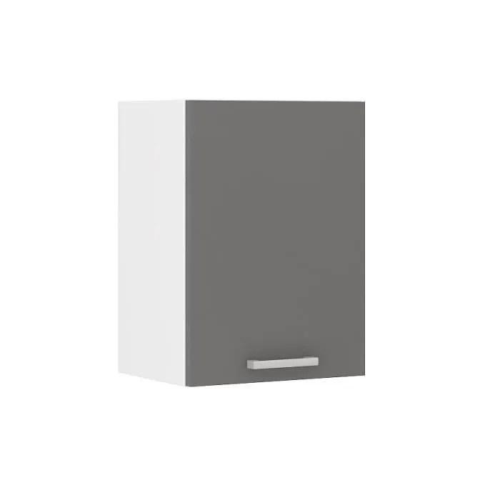 meuble cuisine haut gris