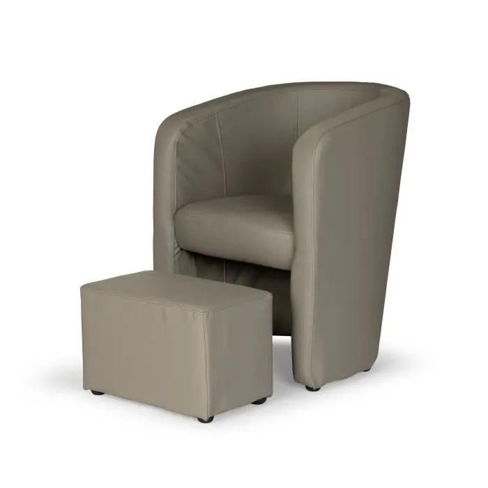 fauteuil cabriolet marron