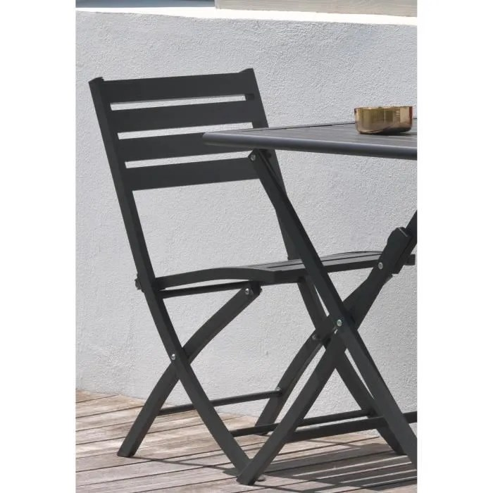 fauteuil jardin 2 chaises pliantes
