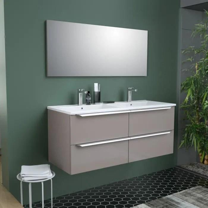meuble salle de bain beige