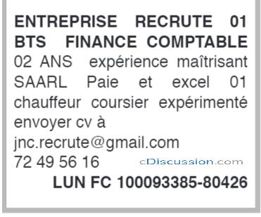 Entreprise De La Place Recrute 01 Chauffeur Coursier, Côte D'ivoire