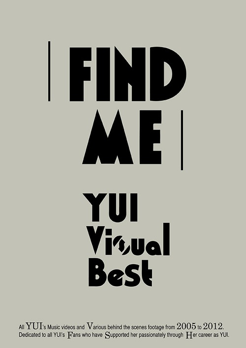 FIND ME YUI Visual Best [Regular Edition]
