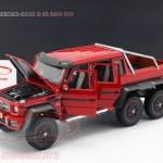 Autoart 1 18 Mercedes Benz G63 Amg 6x6 Year 2013 Red 76304 Model Car 76304 674110763041