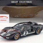 Shelby Collectibles 1 18 Ford Gt40 Mk Ii 2 Winner 24h Lemans 1966 Mclaren Amon Shelby408 Model Car Shelby408 814770014088