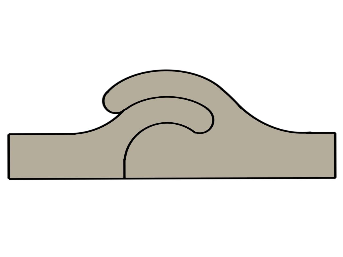 Extrusion process interlocking joints
