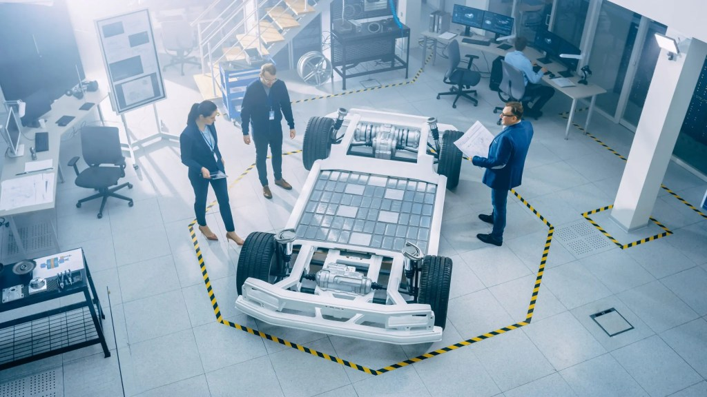 free piston linear generators can be compactly integrated into an electric car chassis as a range extender