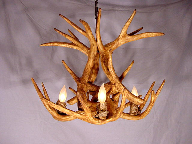 Close Up View Of Cdn Antler Designs Socket Many Reproduction Chandelier Sockets Are Covered With Non Matching Plastic Sleeve Our Cover Is Made From The