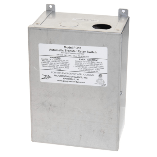 PD52 240 VAC 50-Amp Automatic Transfer Switch