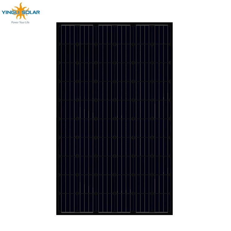 black on black solar panels