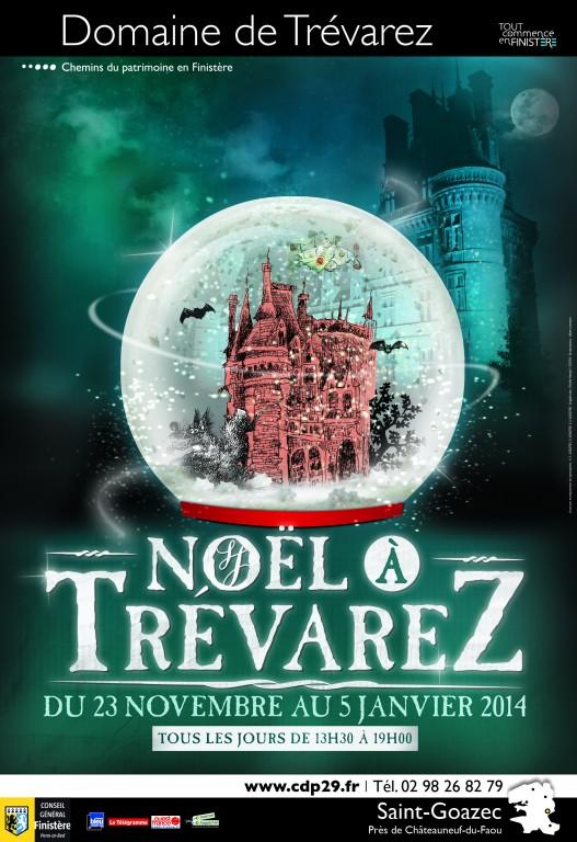 """Affiche """"Noël à Trévarez"""" (2013)"""