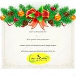 Dal 27 al 29 Dicembre 2017 e dal 03 Gennaio e al 05 Gennaio 2018 settimane dedicate alla Beneficenza per le famiglie bisognose del territorio organizzata dal Centro Sportivo Peter Pan