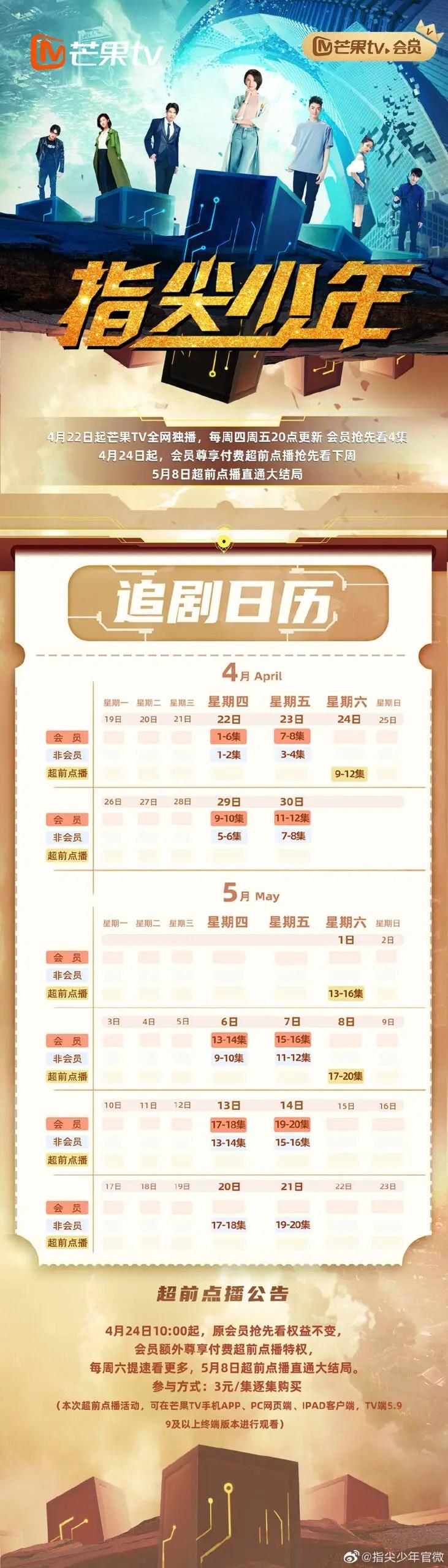 Fantasy Westward Journey Chinese Drama Airing Calendar