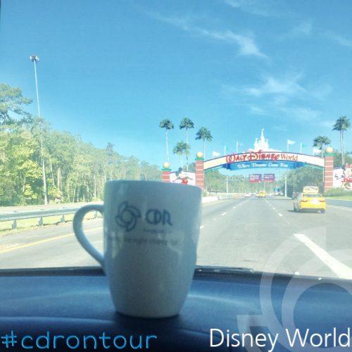 CDR Pumps , travel competition, mug in Florida at Disney Worls