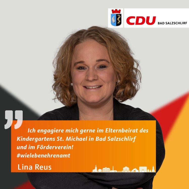 Lina Reus, Listenplatz 2