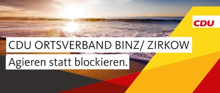 Sommertreff der CDU Binz