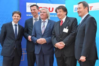 Gemeinsame Veranstaltung von MIT Laatzen und CDU-Fraktion Laatzen. Zu Gast: Hartmut Möllring, Minister a.D.