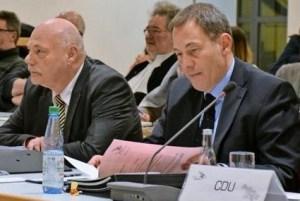 Dreyer und Klaus in Laatzener Ratssitzng