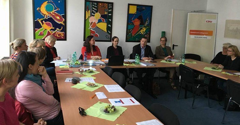 Ortsverband-Mitte unterstützt die Leipziger Frauenunion