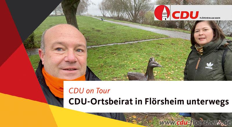 CDU-Ortsbeirat on Tour in Flörsheim