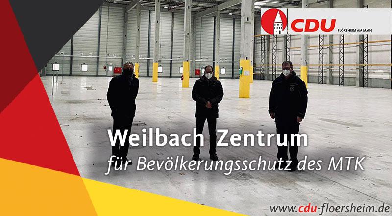 Weilbach etabliert sich zum Zentrum für den Bevölkerungsschutz