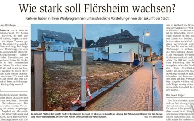 Main-Spitze: Wie stark soll Flörsheim wachsen?