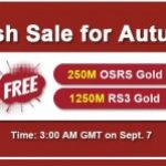 Group logo of RSorder 2020 Autumn Flash Sale: Runescape 07 Gold Online to Gain for Free on Sept 7