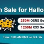 Group logo of Try to Acquire Free RS 2007 Gold from RSorder Halloween Flash Sale on Oct 26