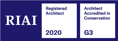 RIAI Registered Architect and Registererd Conservation Architect