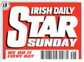 Irish Daily Star on Sunday Masthead