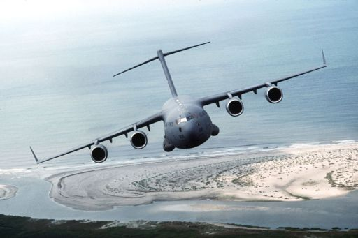 Canadian C-17 takes a trip down to New Zealand