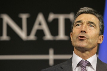 NATO Secretary-General, Anders Fogh Rasmussen (AP/The Globe and Mail)