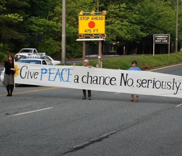 Peace Activists - Trident Resistance