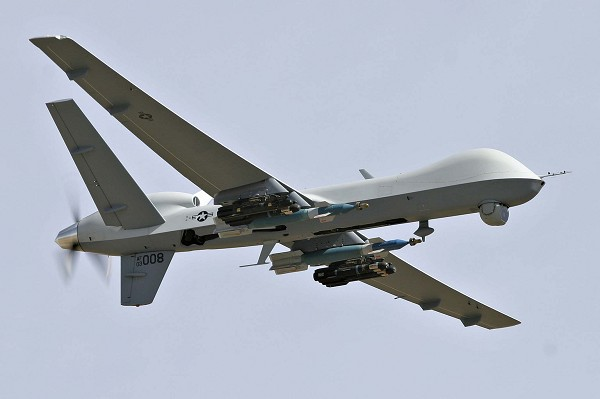 MQ-9 Reaper drone.  Photo: General Atomics Aeronautical Systems Inc.