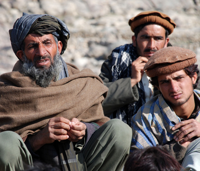 Afghans Villagers from Kapisa province
