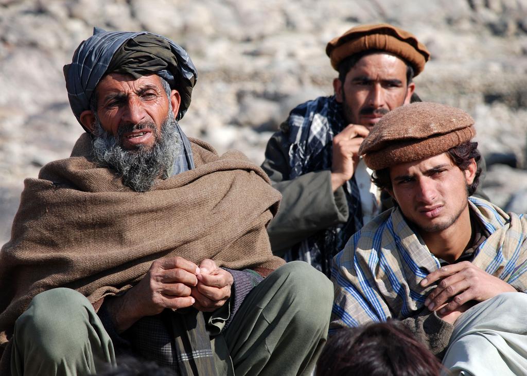 Afghans Villagers from Kapisa province