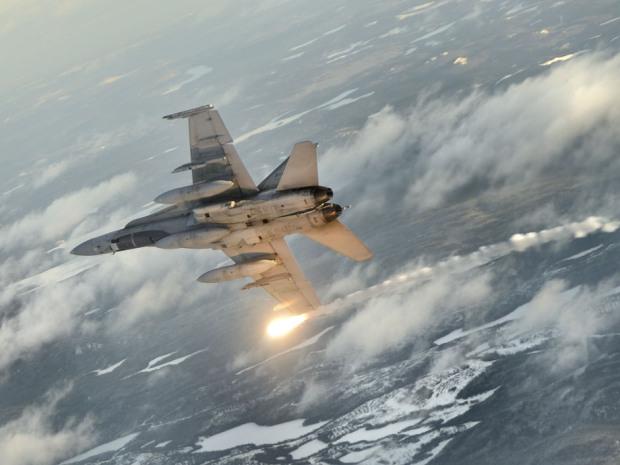 CF-18 fighter bomber