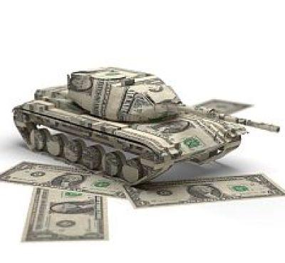 Military money origami
