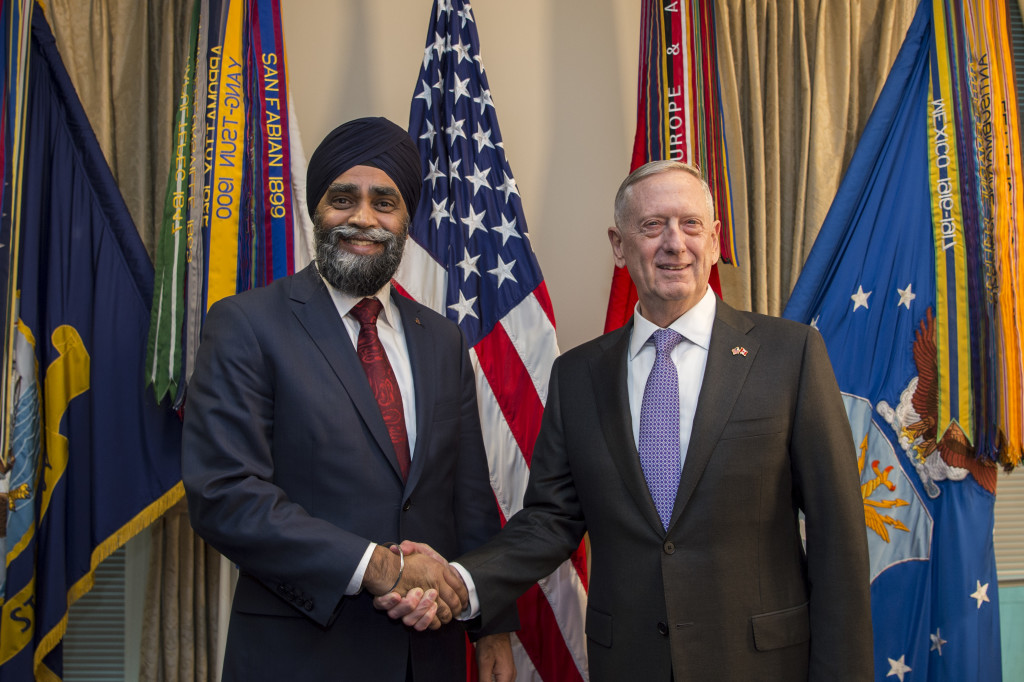 SD hosts Canadian minister of defense