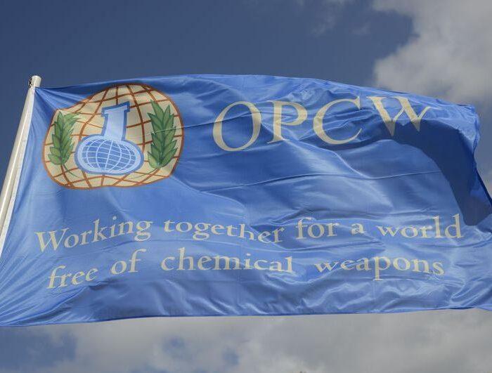 OPCW flag