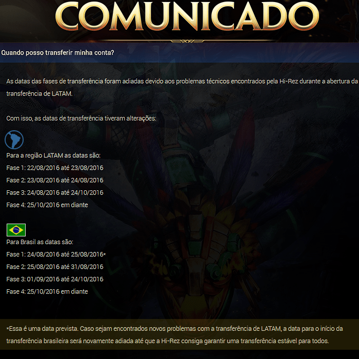 Foto: Site da Level Up