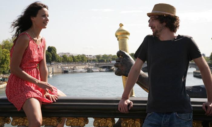 Snemanje filma Vandima v Parizu